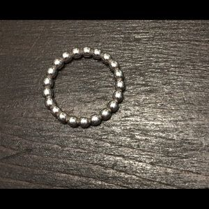 Pandora Beaded stackable ring size 5.5